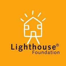Lighthouse Foundation orange logo. 225