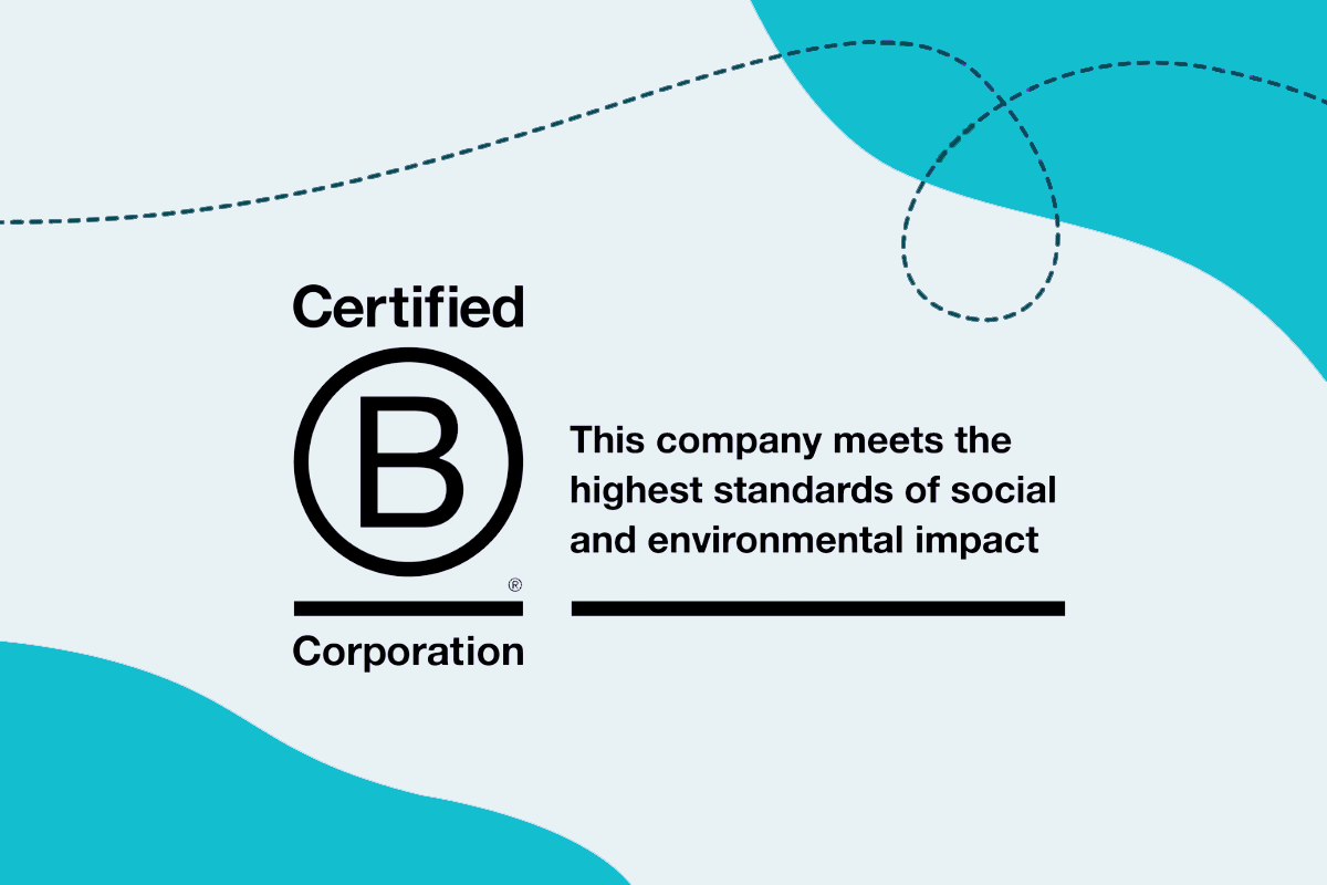 B-Corp Certification teal